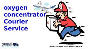 Oxygen Concentrator Courier Service