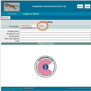 Sundarban Courier Parcel Tracking