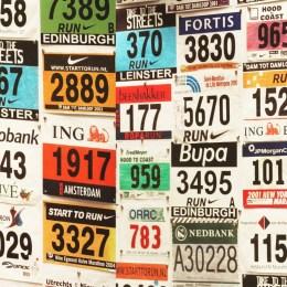 Dossards marathon