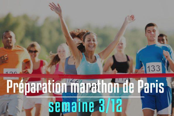 Préparation marathon de Paris