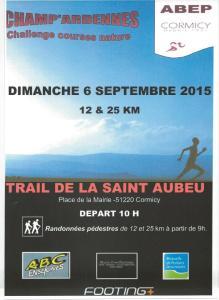 Trail de la SAINT AUBEU - 2015
