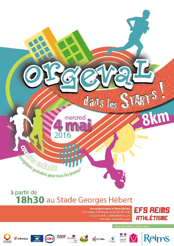 ORGEVAL dans les starts - 2016