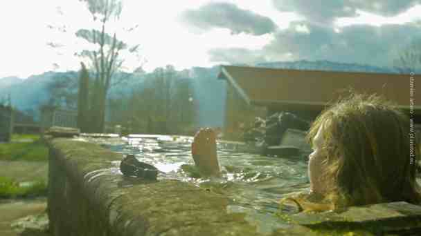 Florian Gomet et les bains froids