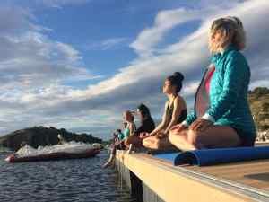 Calme et yoga pour runner