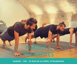 Damien Eissen et le yoga