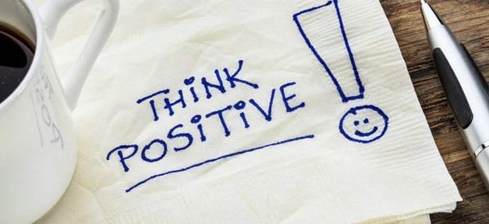 Positief denken is eigenlijk heel makkelijk