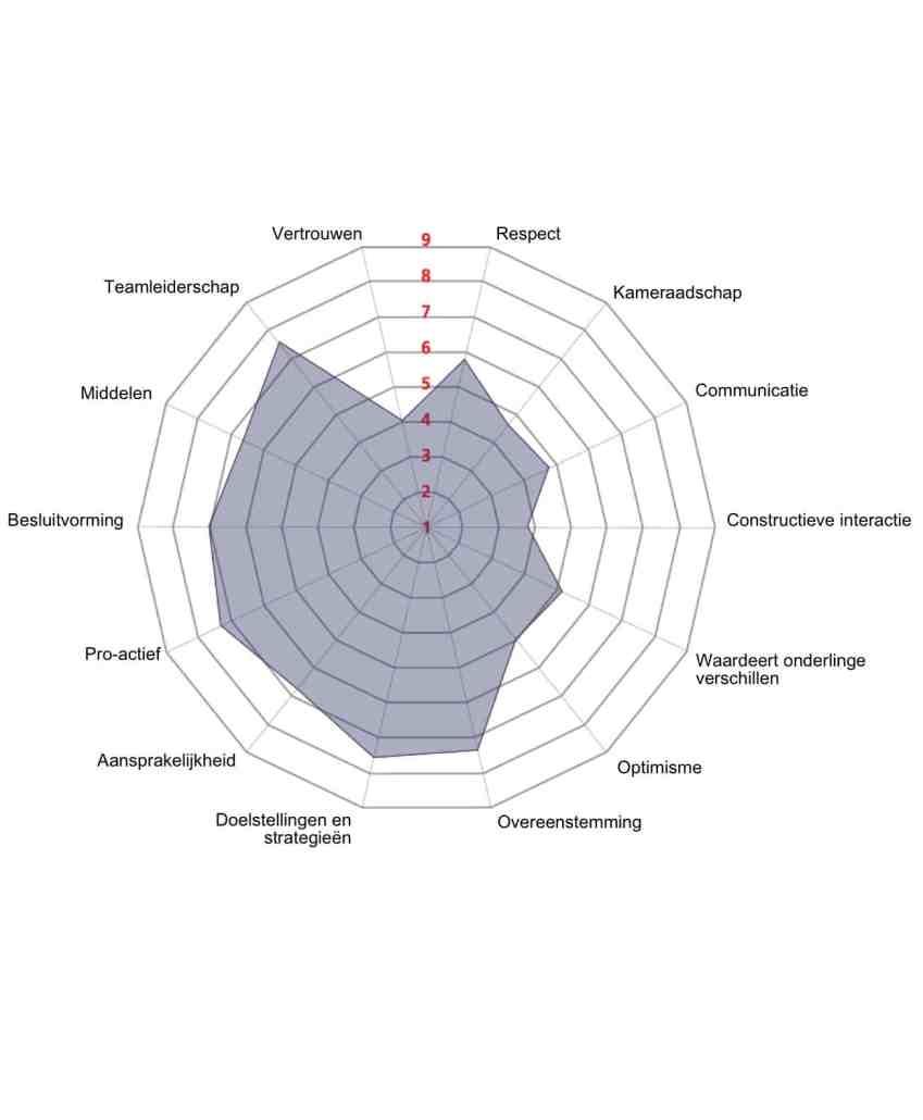Teamscan met Team Diagnostic Assessment en pooldiagram