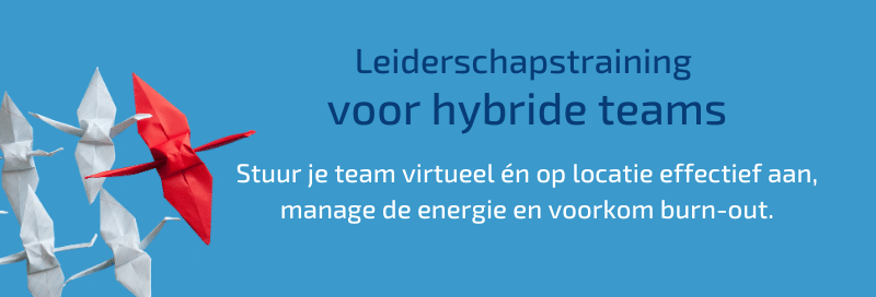 Leiderschapstraining voor hybride teams
