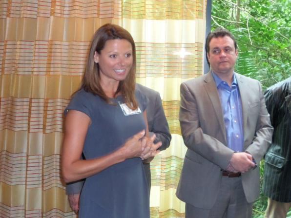 Mélanie Kimpton, de One Sotheby's Realty, partenaire de l'événement. www.onesothebysrealty.com
