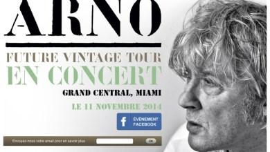 Photo of Arno en concert à Miami