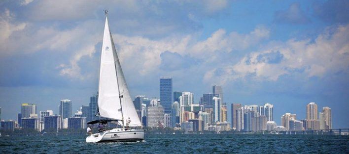 Skyline de Miami Downtown