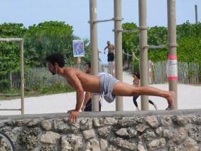 Les gens de South Beach / Miami Beach / Floride
