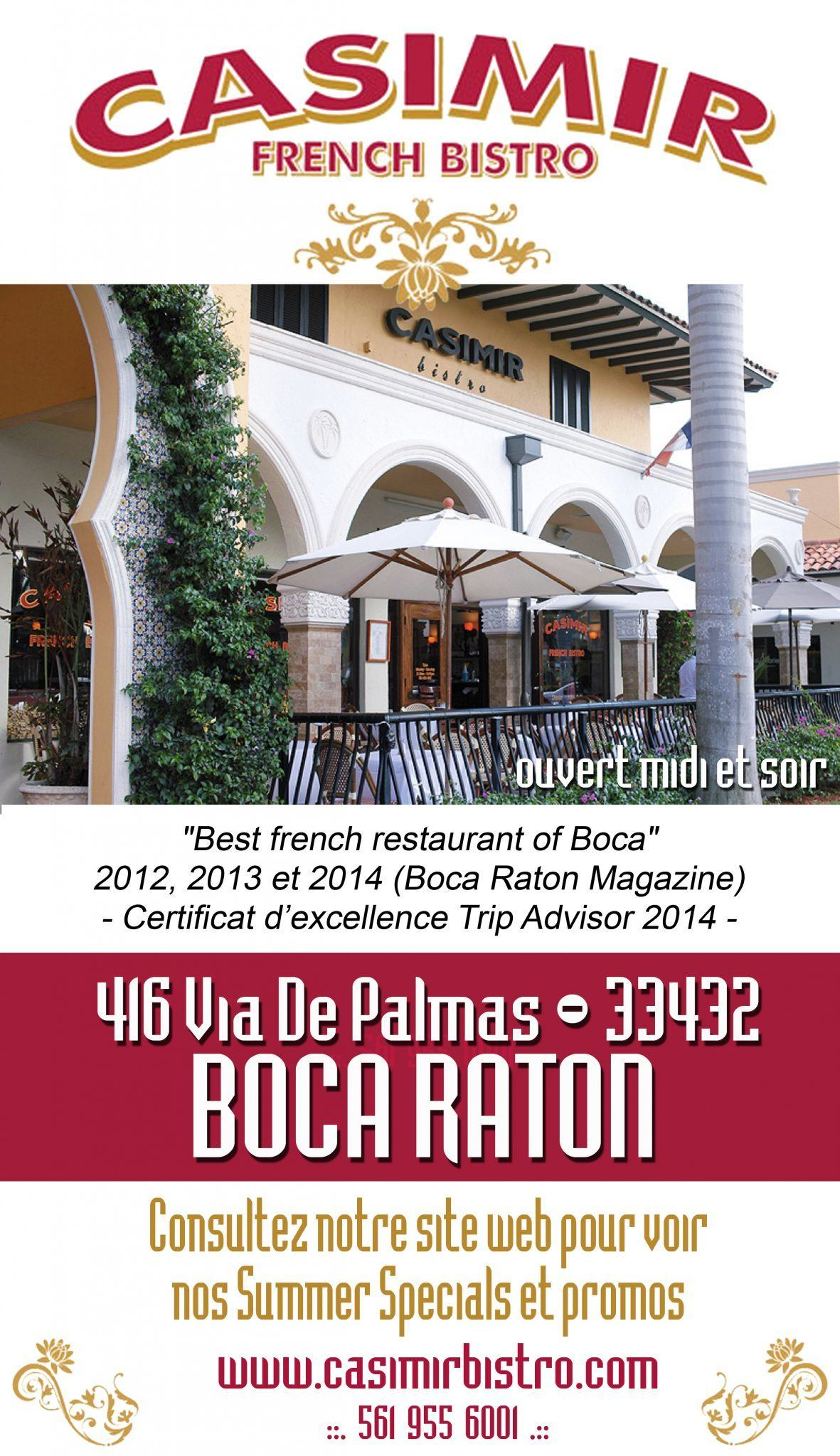 restaurants français à Miami