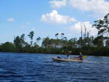 Jonathan Dickinson State Park - Jupiter - Floride - Rivière - Kayak