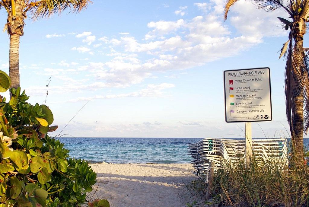 Plage de Dania Beach