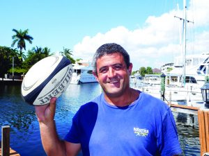 Christophe Kwiecinski Rugby aux USA