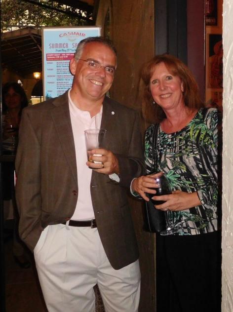 Network Courrier de Floride au restaurant Casimir de Boca Raton