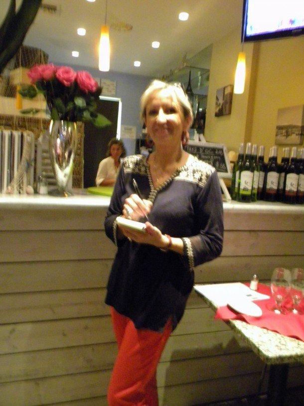 Edith Barthelemy du Sea Restaurant (à Lauderdale-by-the-Sea), le jour du 14 juillet 2015