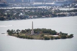 Miami Beach - Flagler Memorial Island - Photo William Wesen - Domaine Public