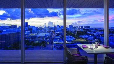 Photo of Les bars sur les toits de Miami