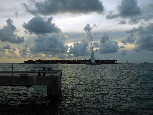 Coucher de soleil à Key West - Floride