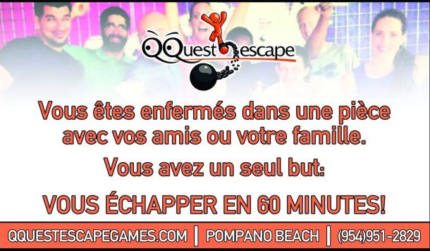 Q-Quest Pompano Beach escape room