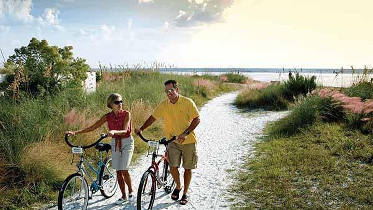 Siesta Beach (Key) en zone urbaine (Sarasota-sud)