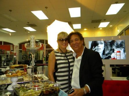 Soirée Network Courrier de Floride FACC pour le 1er anniversaire de Pure Salon à Boca Raton.