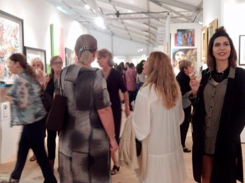 Red Dot Art Fair Miami photo : Sabrina Bristle pour le Courrier de Floride