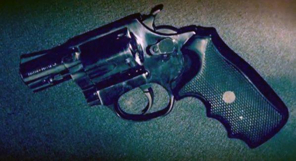 Une arme retrouvée sur place après la fusillade avec Jean Wabafiyebazu.
