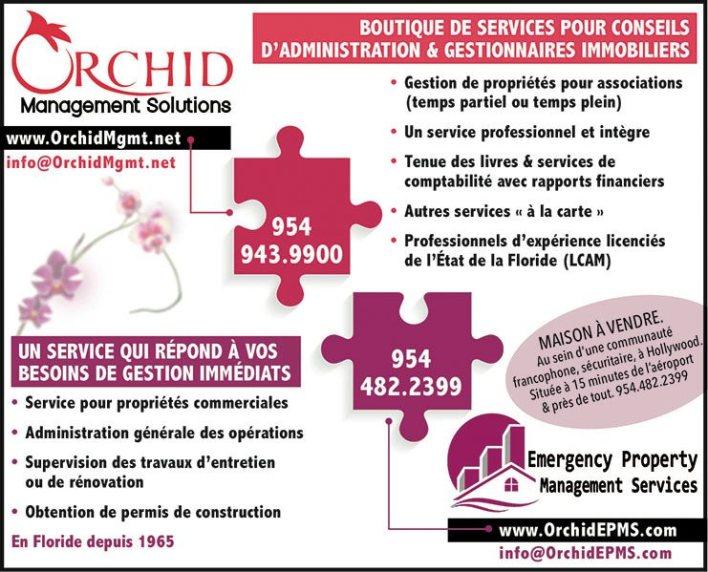 Orchid Management