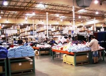 Un magasin Costco aux Etats-Unis