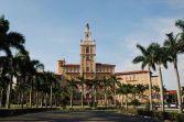 Façade nord du Biltmore Hotel (Miami Floride)