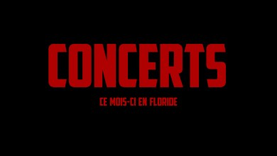 Photo of Concerts à Miami et en Floride en Janvier 2018
