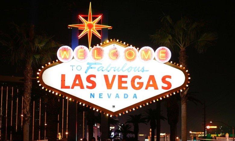 Panneau Welcome to Las Vegas