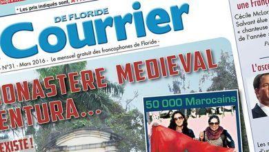 Photo of Le Courrier de Floride de Mars 2016 est sorti !