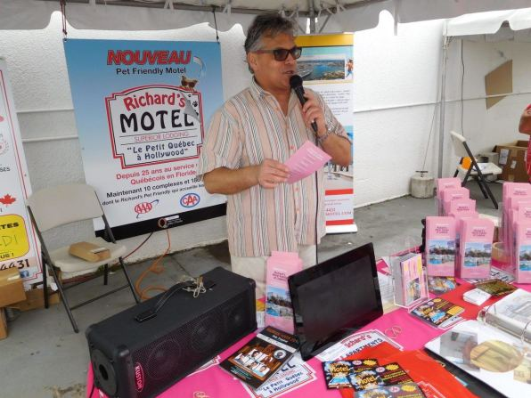 QuébecFest 2016 : Stand de Richards Motel