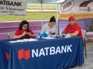Stand de la NatBank : QubecFest 2016 à Hollywood Floride
