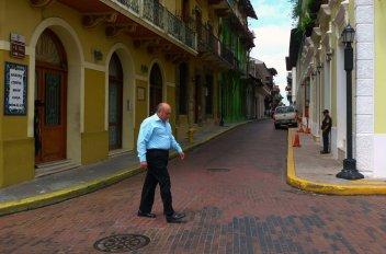 Vieille rue de Panama City