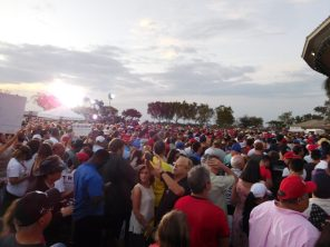 Meeting de Donald Trump à Boca Raton Floride
