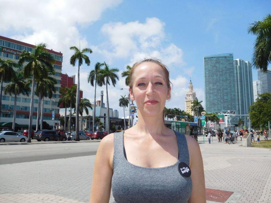 Cynthia Legrand organisatrice des Belgian Mondays à Miami