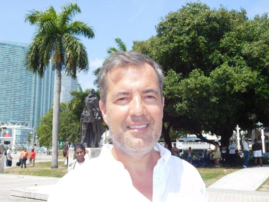 Manuel Molina, consul de Belgique à Miami