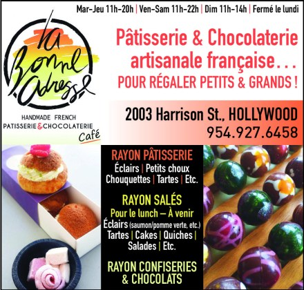 La Bonne Adresse Hollywood, café restaurant