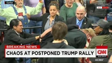 Photo of Le meeting de Trump à Chicago envahi par des manifestants et annulé