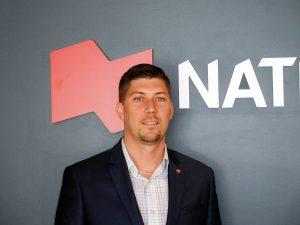 Michael Côté, président de Natbank, en Floride