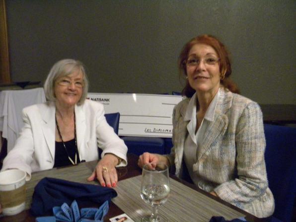 Mariette Miller et Gladys Gagné