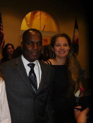 Jugnace Joseph et Nathalie Cluzet-Berthot (tous deux du consulat de France)- 30 ans du Consulat de France à Miami