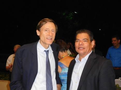 Le consul honoraire de Tampa, Jean Charles Faust, était là ! - 30 ans du Consulat de France à Miami