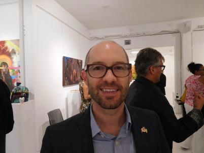 Marc-André Hawkes Cocktail CCQF à Miami