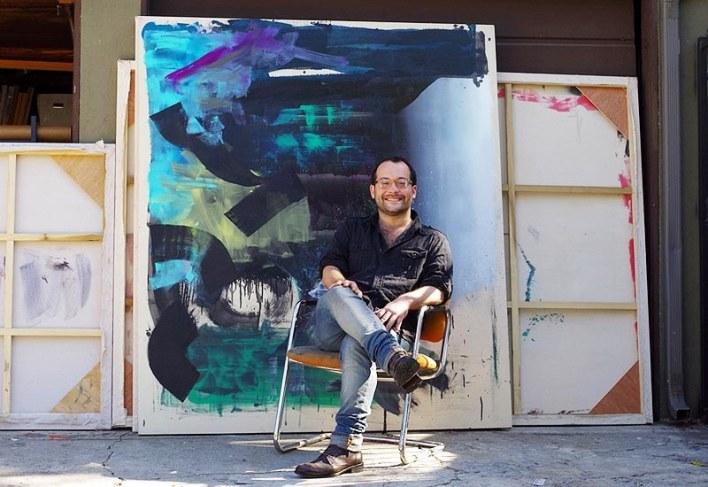 Exposition du peintre Alexander à Kroll à miami